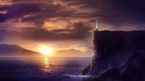 Divine Cliffside